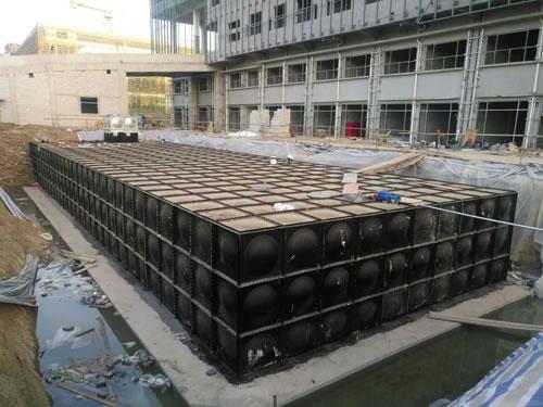 安徽滁州900多吨地埋式箱泵一体化